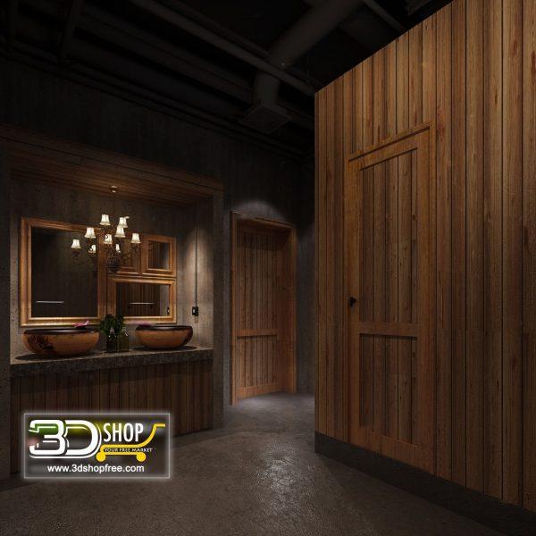 065 Bathroom Interior Scene