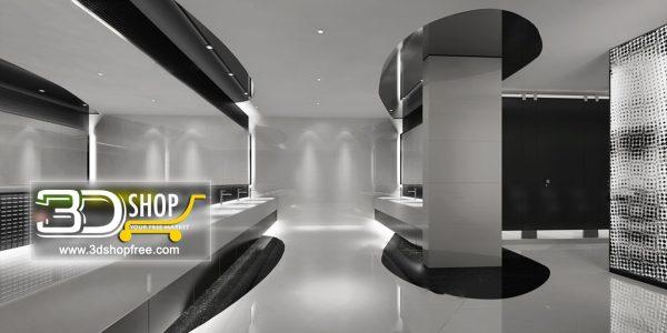 066 Bathroom Interior Scene