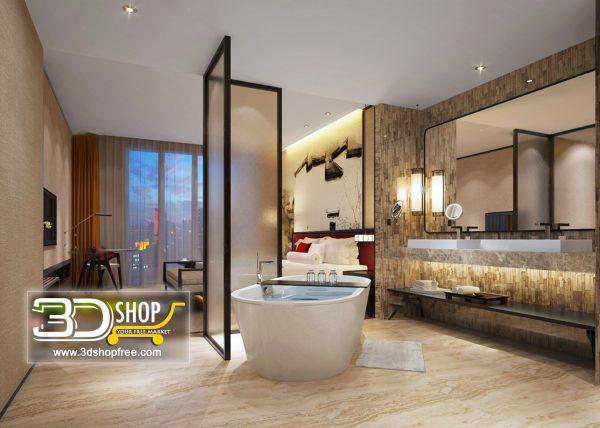 068 Bathroom Interior Scene