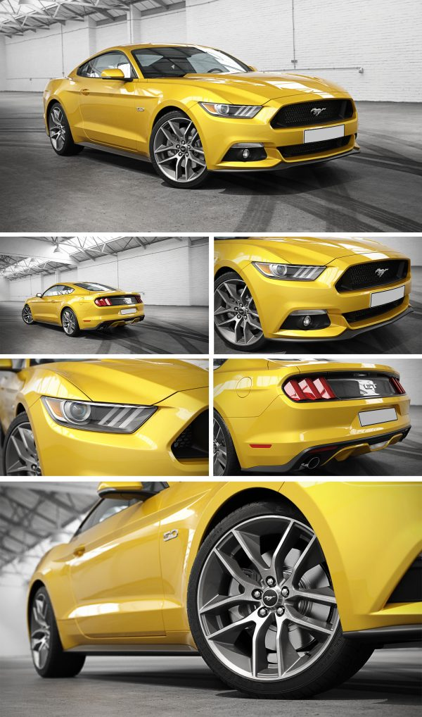 Ford Mustang Car 3d Model Free Download 068