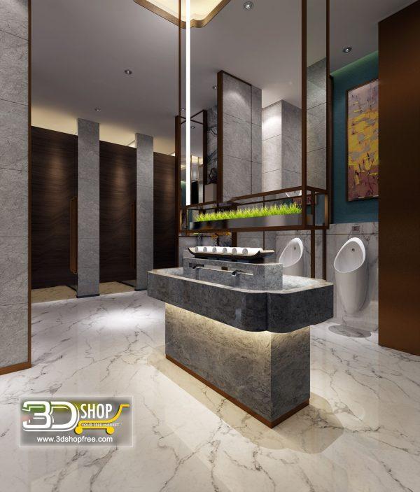 069 Bathroom Interior Scene