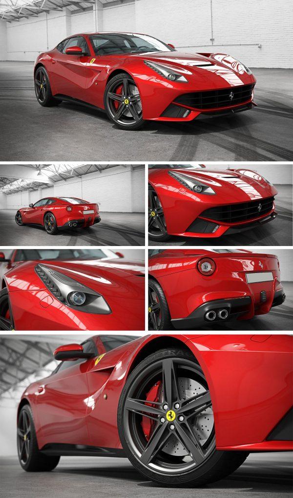 Ferrari Car 3d Model Free Download 069