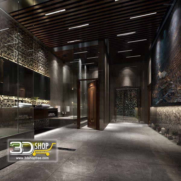 070 Bathroom Interior Scene