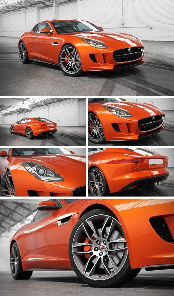 Jaguar Car 3d Model Free Download 070