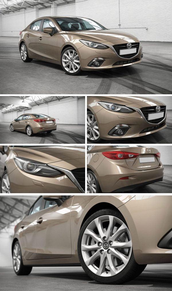 Mazda Car 3d Model Free Download 072