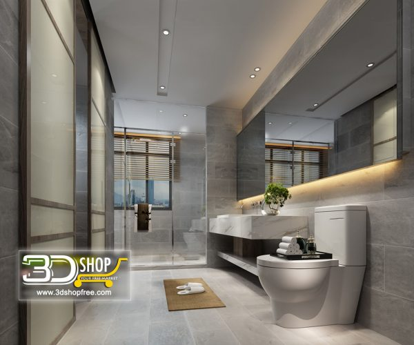 075 Bathroom Interior Scene