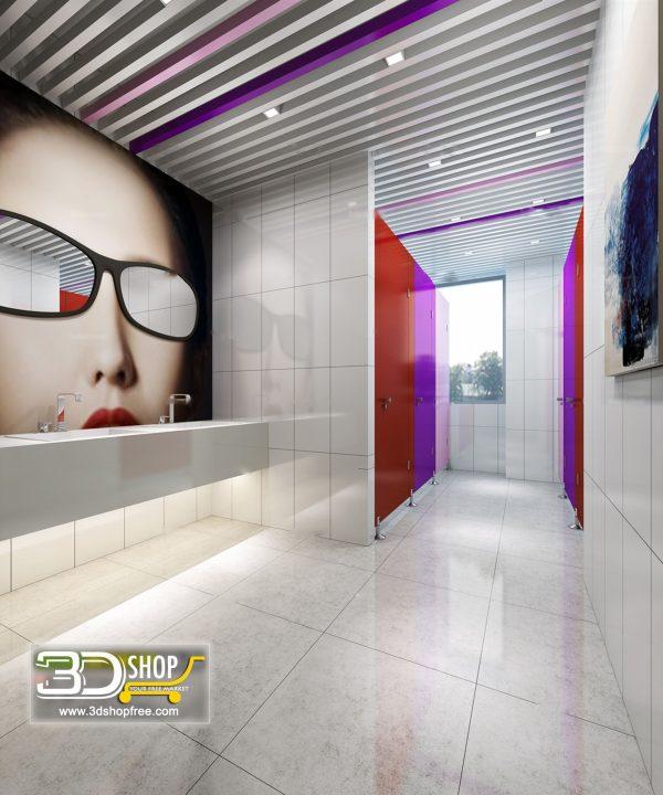 076 Bathroom Interior Scene