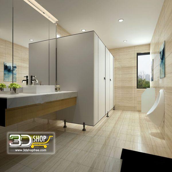077 Bathroom Interior Scene