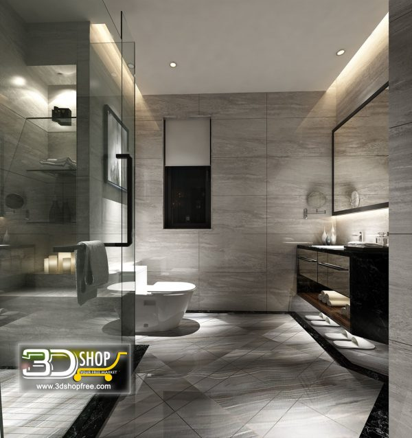 078 Bathroom Interior Scene
