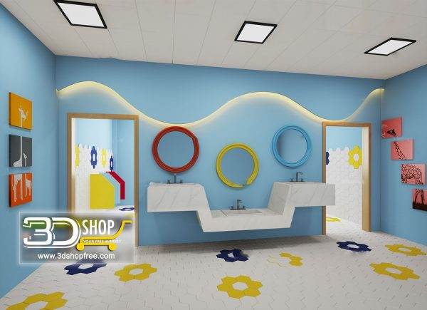 080 Bathroom Interior Scene