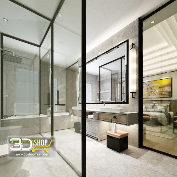 081 Bathroom Interior Scene