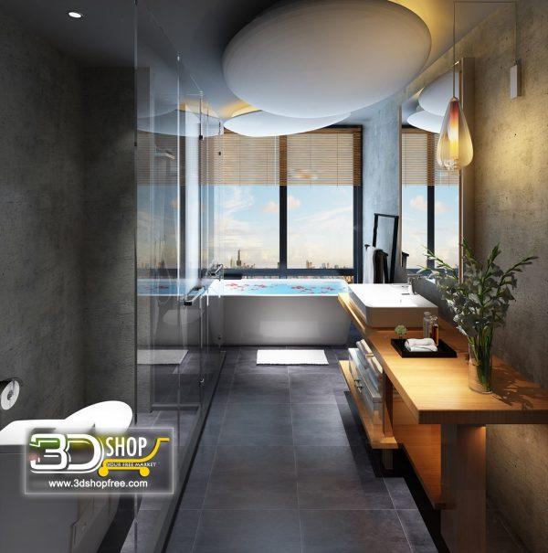 082 Bathroom Interior Scene