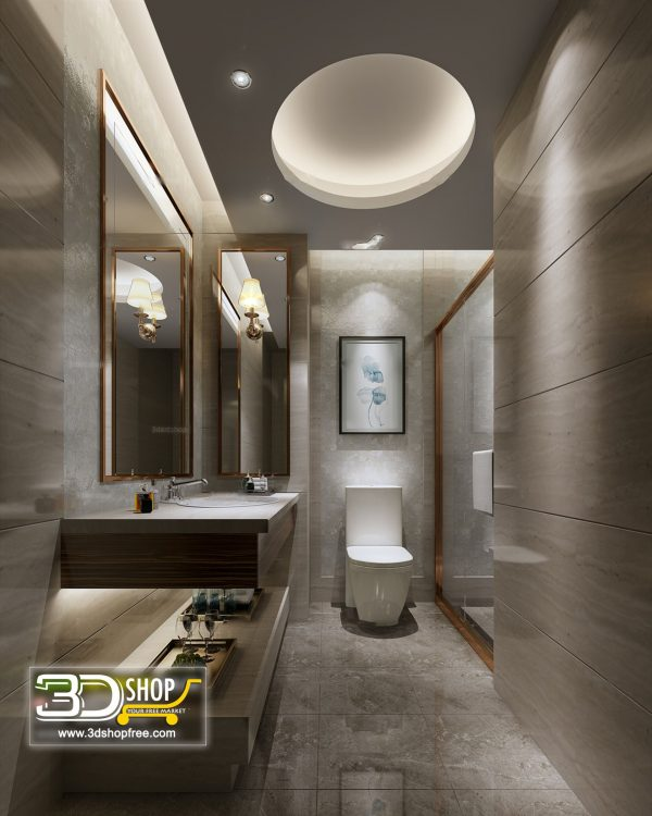 083 Bathroom Interior Scene