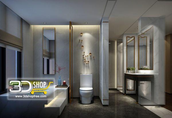 084 Bathroom Interior Scene