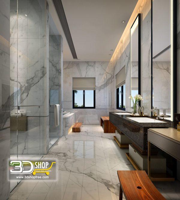 085 Bathroom Interior Scene