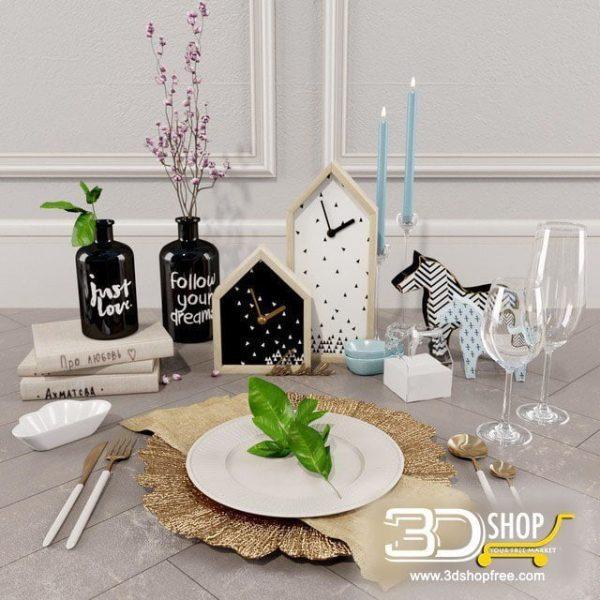 Decorative Set Corona & VRay 078