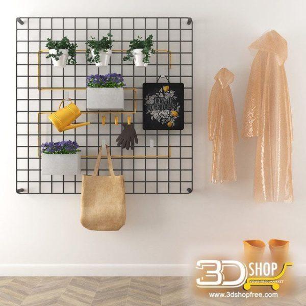 Wall Decorative Items 3d Models 077