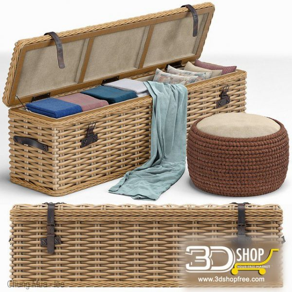 Basket 3d Model Free Download 100