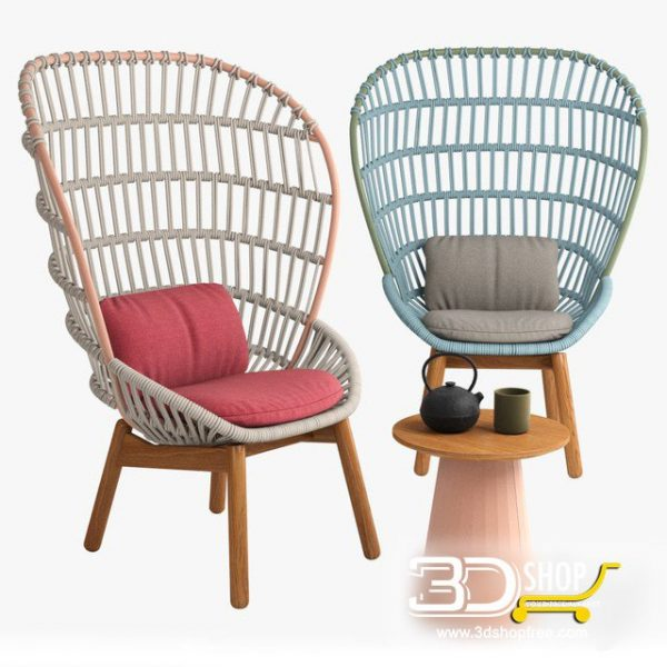 Chair 3d Model Free Download 017