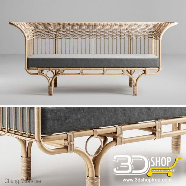 Furniture And Decor 3d Model 097