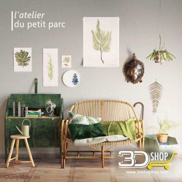 Furniture And Decor 3d Models 095