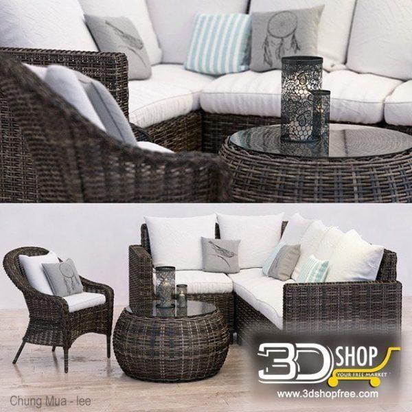 Furniture And Decor 3d Models 096