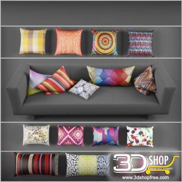 Cushions 3d Model 159