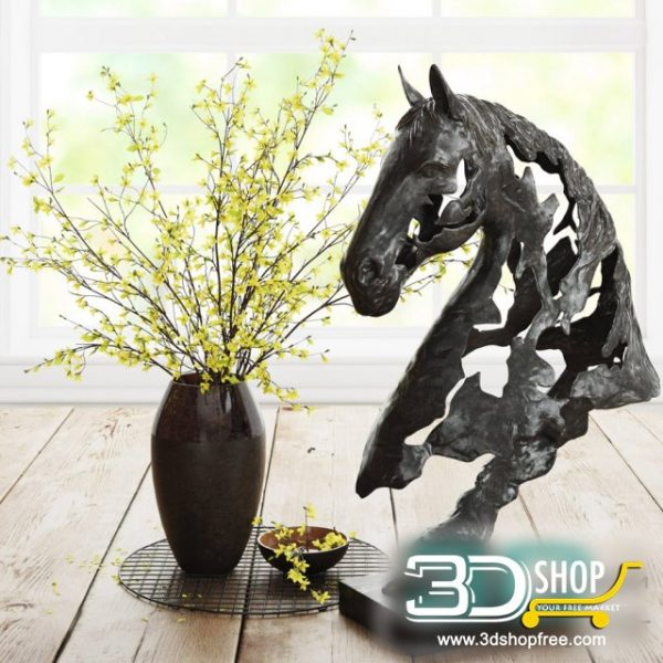 Decorative Set 3d Models 090