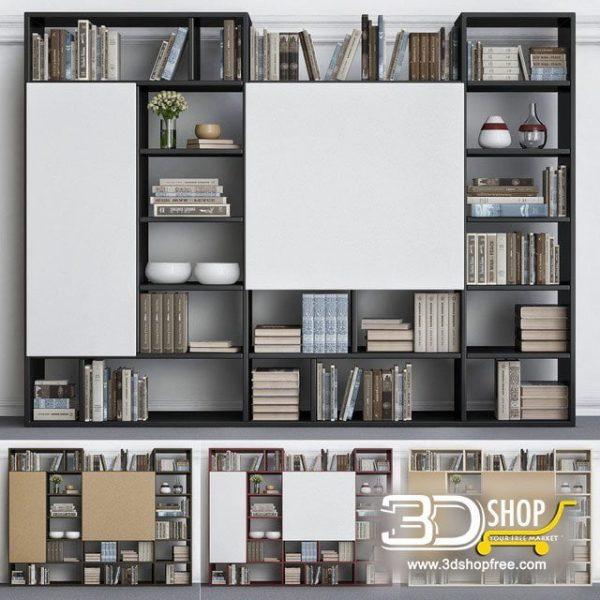Display Cabinet 3D Model 435