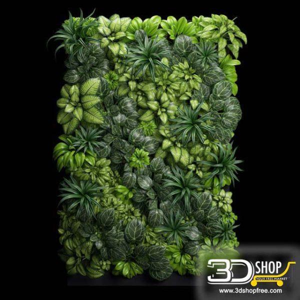 Plant Wall 3D Models 028