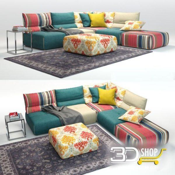 Sofa 3d Model 158