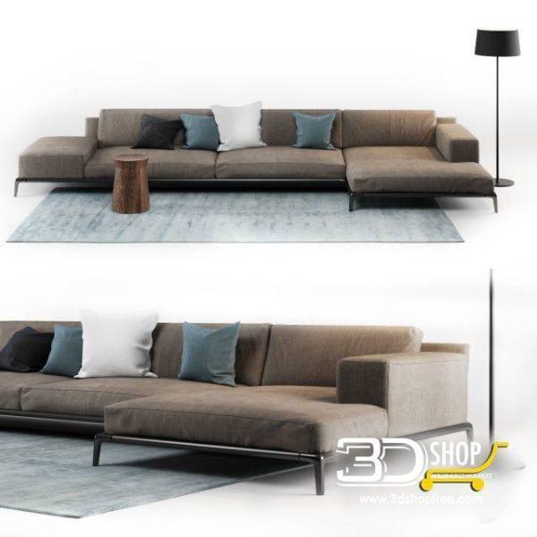 Sofa 3d Model 161