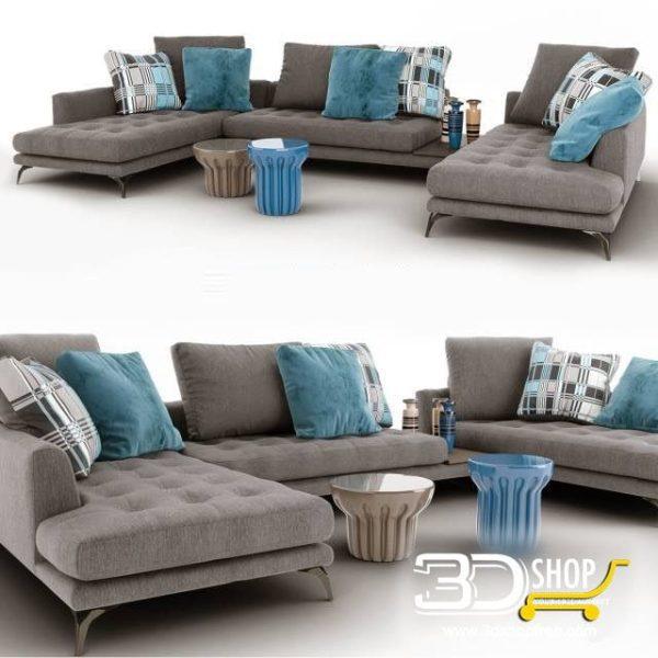 Sofa 3d Model 163