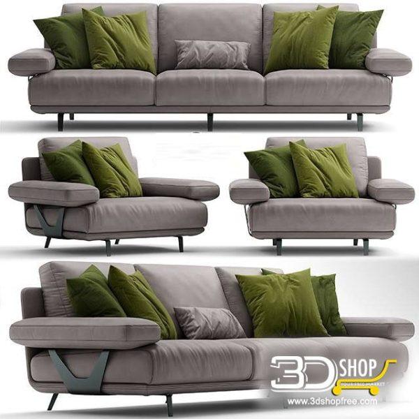 Sofa 3d Model 164