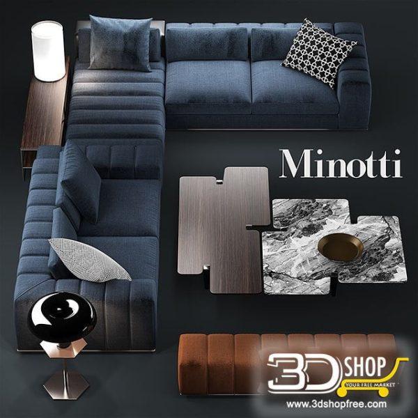Sofa 3d Model 168