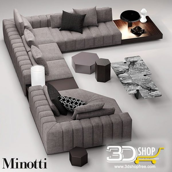 Sofa 3d Model 172